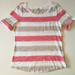 Banana Republic Stripped Top NEW Size L